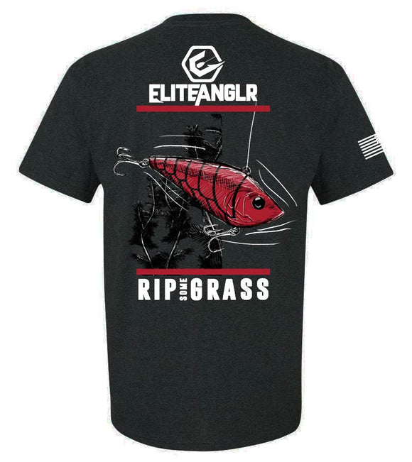 Elite Anglr Rip Some Grass Tee