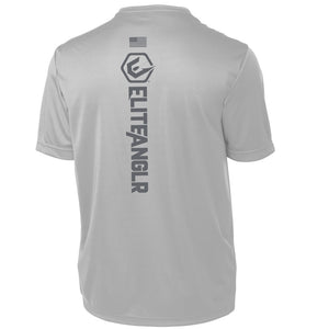 Tungsten Silver Performance Tee Shirt