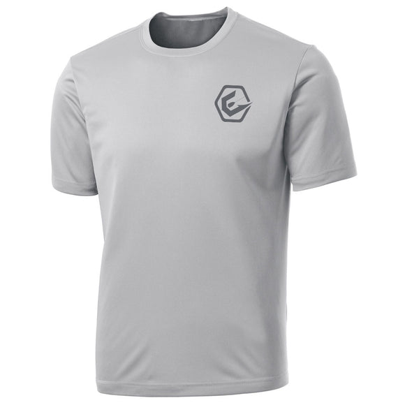 Elite Anglr Silver Performance shirt