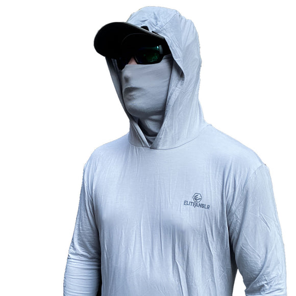 Bamboo Hooded Performance Shirt with sun mask