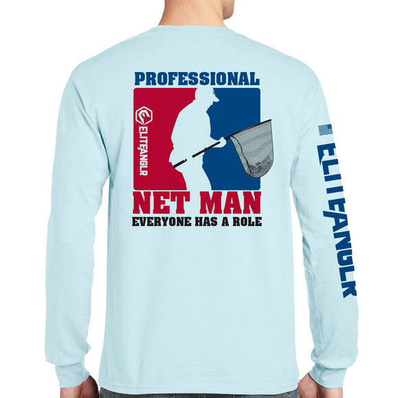 Net Man Long Sleeve T-shirt