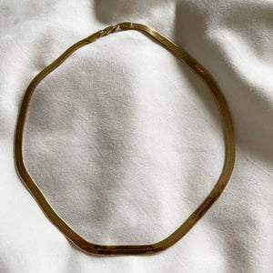 Thick As Thieves Herringbone  Necklace