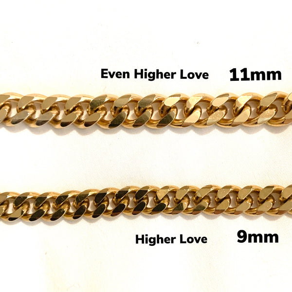 Even Higher Love Thick Chain Necklace