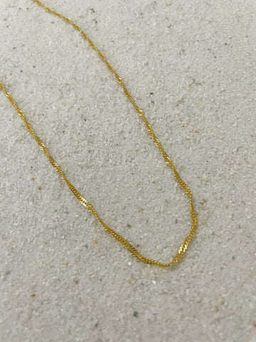 AuORA Dancing The Night Away Gold Chain Necklace