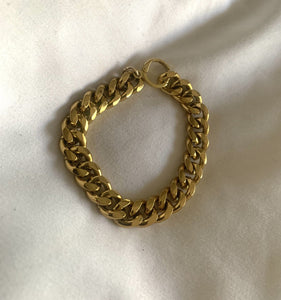 Even Higher Love Chunky Gold Chain Bracelet