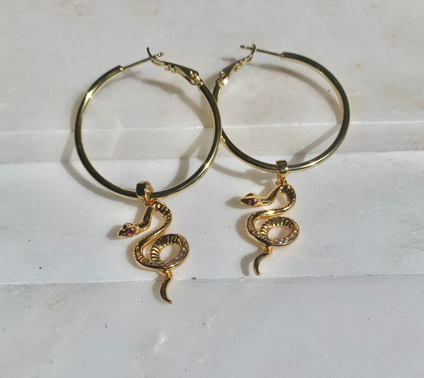 Serpent  ♱ Hoops