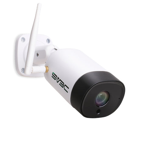 WiFi Security Camera Outdoor, SV3C 3MP HD 2304x1296 Wireless Security Camera with Two-Way Audio, IR Night Vision, Motion Detection, IP67 Waterproof Camera for Outdoor Indoor, Support Max 64GB SD Card