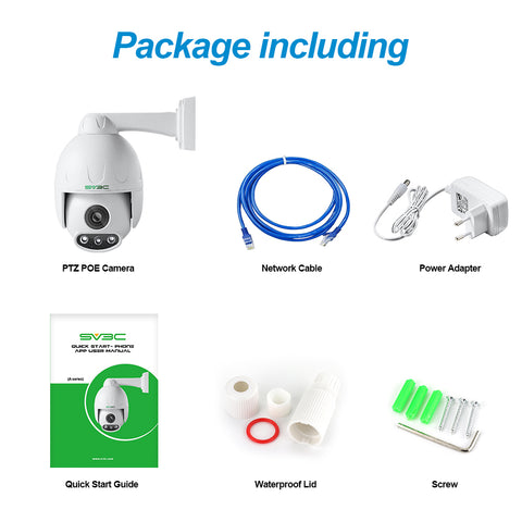 Image of 4x zoom 1080P high resolution cctv surveillance PTZ Camera