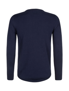 Knitted Crewneck - Navy
