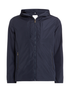 Hooded Triangle Jacket - Navy