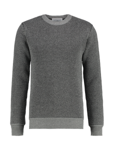 Knitted Crewneck - Grey