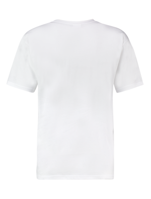Transparant Pocket T-shirt - White