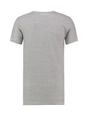 Stripe Jungle T-shirt - White