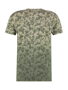 Camouflage T-shirt - Army Green