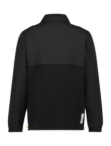 Utility Half Zip Sweater - Black