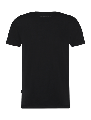 Chest Pocket T-Shirt - Black