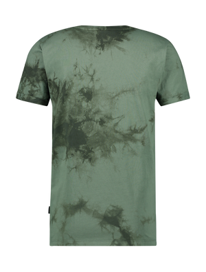 Acid Wash T-Shirt - Army Green