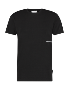 Side Logo T-Shirt - Black