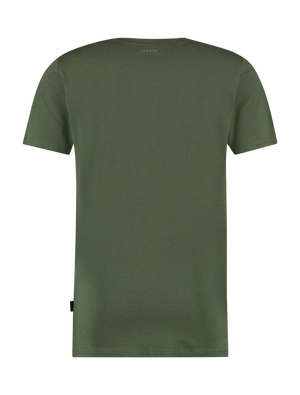 Side Logo T-Shirt - Army Green