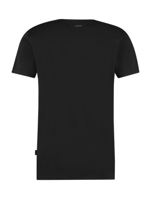 Screen Print T-Shirt - Black