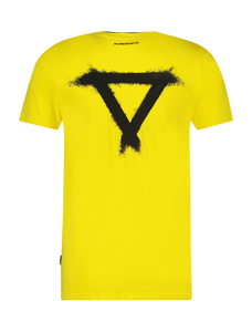 Double Collar T-Shirt - Yellow