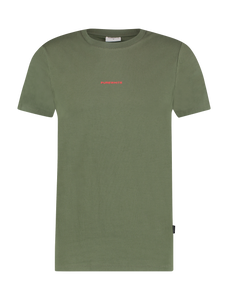 Graphic Logo T-Shirt - Army Green