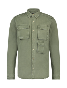 Utility Shirt - Army Green