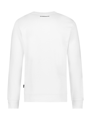 Chest Pocket Sweater - Off White