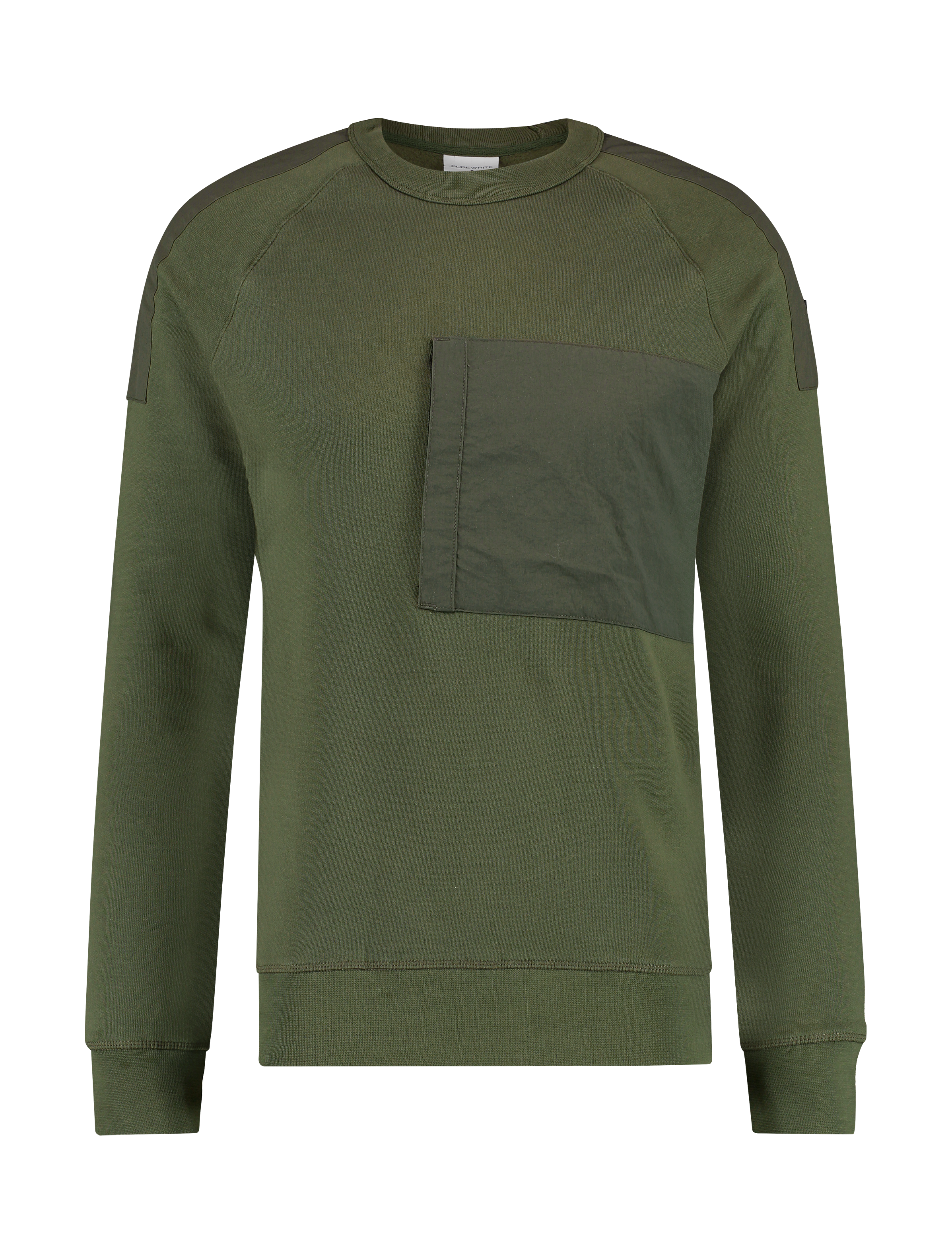 Pocket Sweater - Army Green