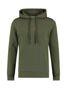 Graphic Logo Hoodie - Army Green