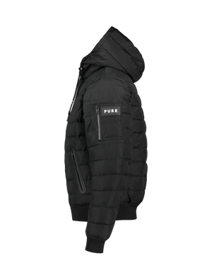 Padded Jacket - Black