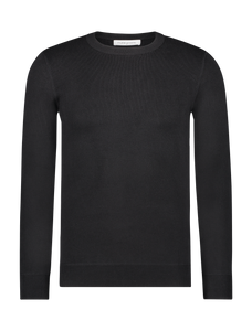 Knitted Sweater - Black