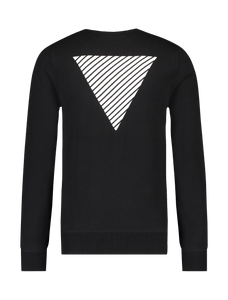 Knitted Logo Sweater - Black