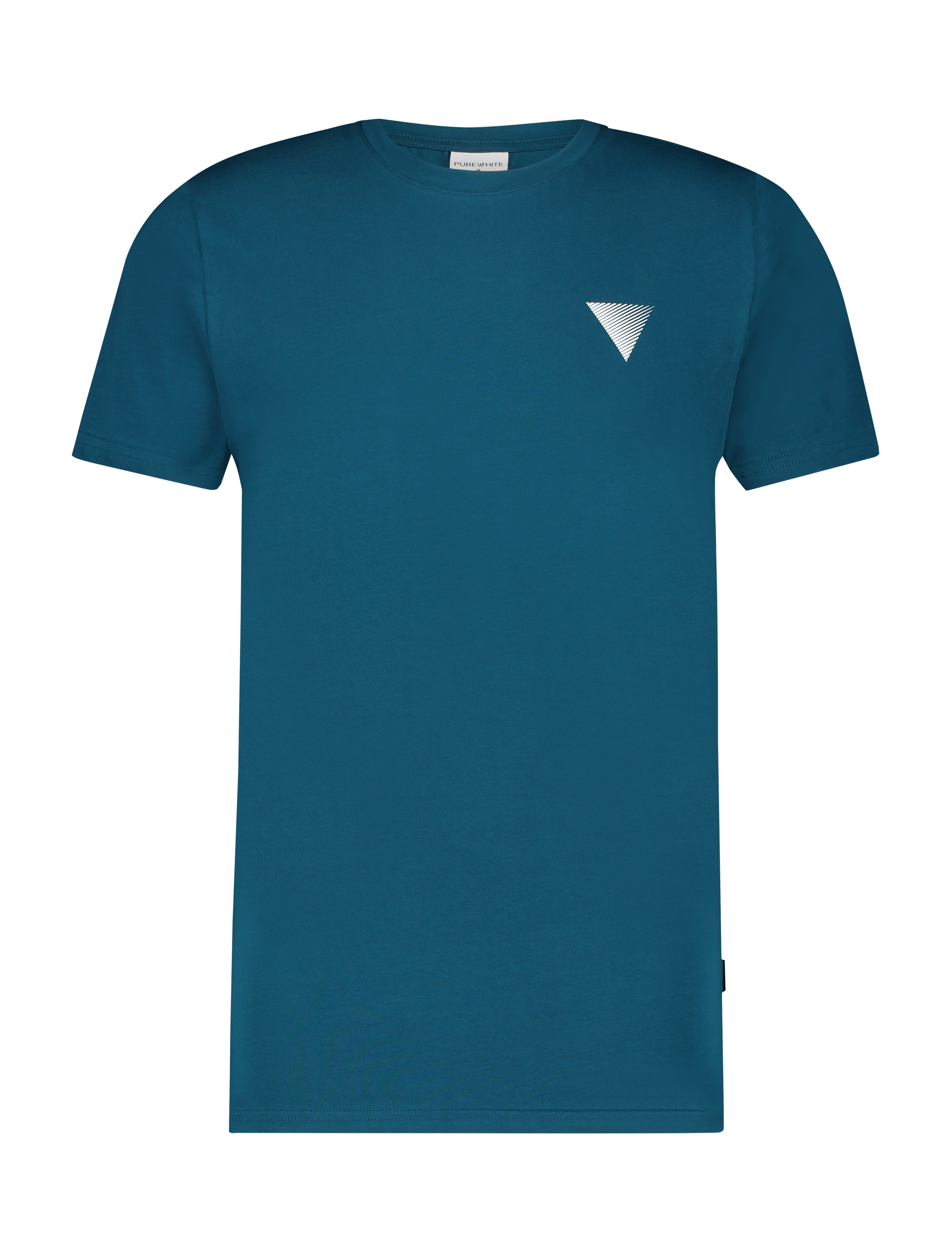 Triangle Logo T-shirt - Petrol