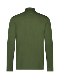 Long Sleeve Mockneck T-shirt - Dark Army