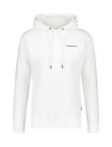 Chest Logo Hoodie - Off White