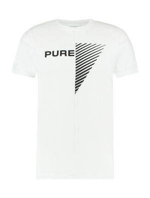 Purewhite Duality Of Men T-shirt White