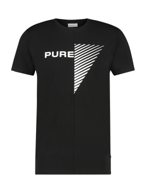 Purewhite Duality Of Men T-shirt Black