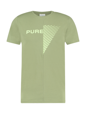 Purewhite Duality Of Men T-shirt Army Green