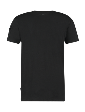 Utility Pocket T-shirt - Black