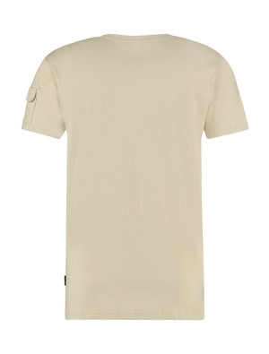 Utility Pocket T-shirt - Sand