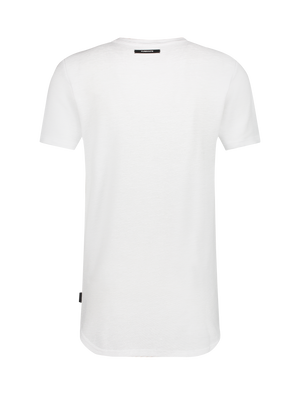 Ribbed T-shirt - White