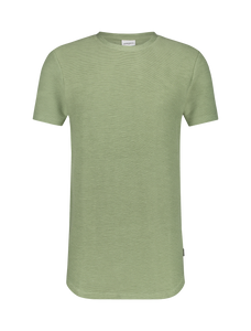 Ribbed T-shirt - Army