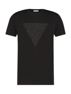 Morse Logo T-shirt - Black
