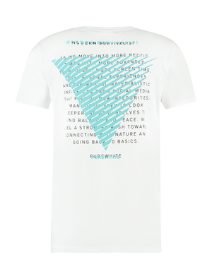 Survivalist T-shirt - White