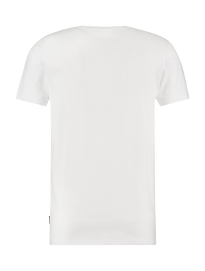 Shifted Logo T-shirt - White