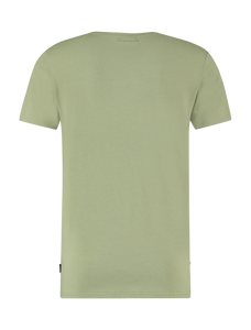 Shifted Logo T-shirt - Army