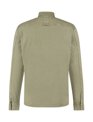 Heavy Twill Shirt - Army