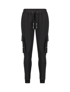 Utility Pocket Sweatpants - Black