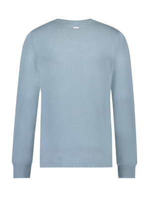 Essential Knit Crewneck - Blue